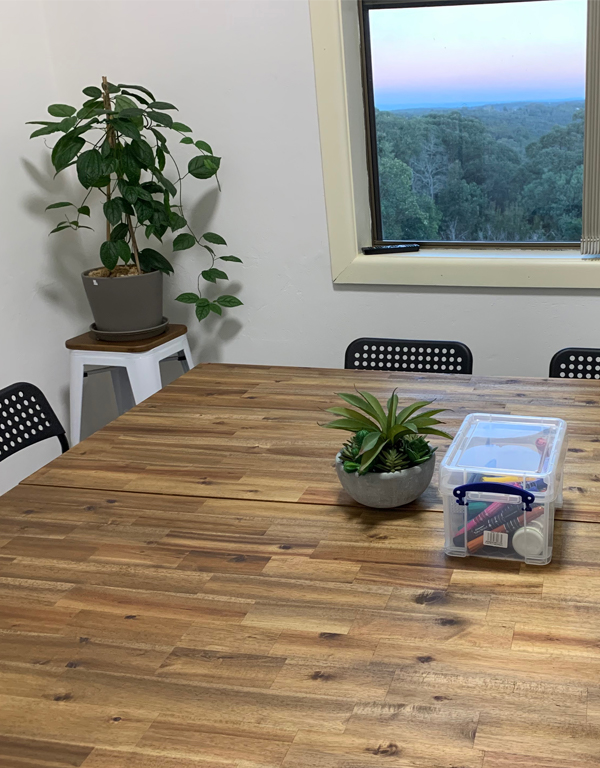 Bee Farm Meeting Room at INDY MTNS Coworking in the Blue Mountains